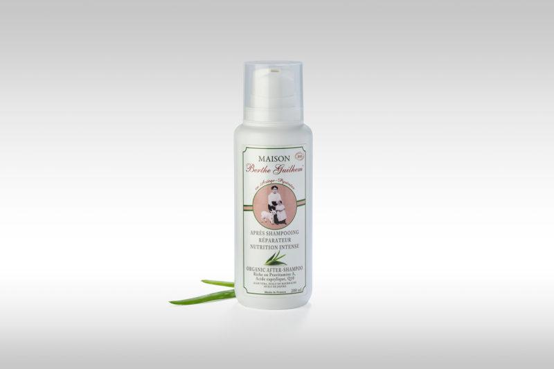 Après shampoing réparateur bio Berthe guilhem cosmétiques bio