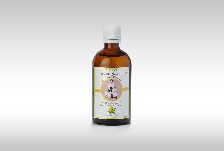 Huile d'onagre 100 ml - Maison Berthe Guilhem Cosmétiques Bio