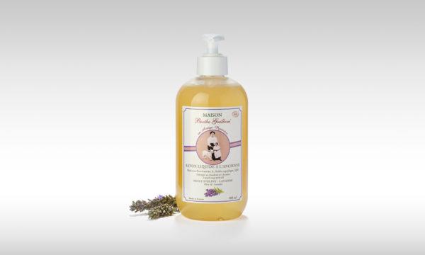 savon liquide bio olive lavande 500ml fabriqué en France