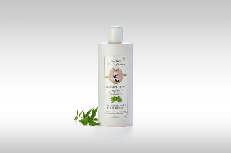 Vente en ligne Shampoing antipelliculaire bio ultra doux berthe guilhem