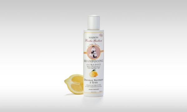 shampoing pour cheveux gras et normaux bio fabriqué en France 200ml