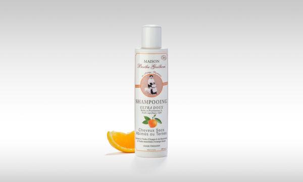 shampoing bio pour cheveux secs ternes ou abimés