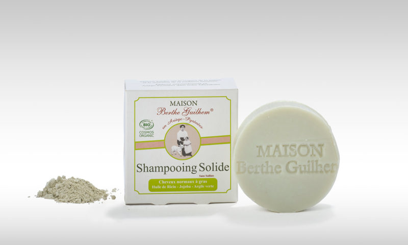Shampoing solide normaux a gras 100 gr