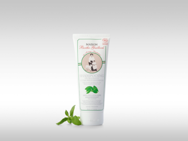 Shampoing ultra doux antipelliculaire bio