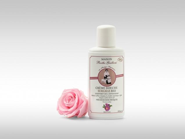 Crème douche Rose Musquée