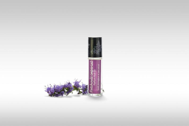 Parfum roll-on Patchouli impérial écologique et sans alcool